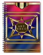 Art Deco Design 2020 C Spiral Notebook