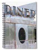 Art Deco Diner Spiral Notebook