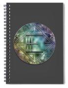 Art Deco - E Spiral Notebook
