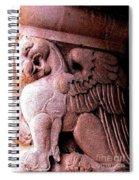 Art Deco Griffin Circa 1925 Spiral Notebook