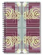 Art Deco Spiral Notebook