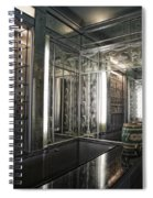 Art Deco Bar Vertical Spiral Notebook