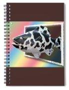 Art Fish Fun Spiral Notebook