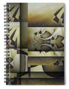 Art From The Klingon Homeworld Spiral Notebook