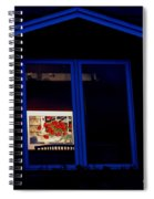Art Gallery At Night Spiral Notebook