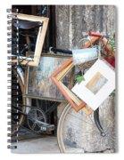 Art Gallery Bike Spiral Notebook