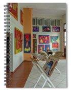 Art Gallery In Havana Spiral Notebook