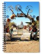 Art Garden Spiral Notebook