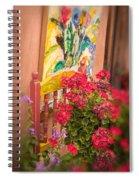 Art Imitates Life Spiral Notebook
