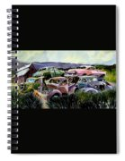 Art In The Orchard Spiral Notebook