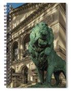 Art Institute Exterior Chicago Spiral Notebook
