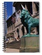 Art Institute Of Chicago Chicago Il Usa Spiral Notebook