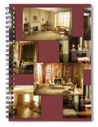 Art Institute Of Chicago Miniature Room Collage Spiral Notebook