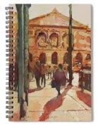 Art Institute Reflected Spiral Notebook