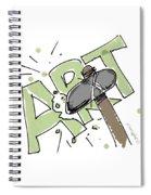 Art Matters Spiral Notebook