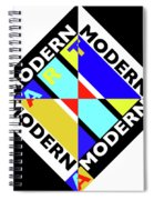 Art Modern Spiral Notebook