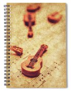 Art Of Classical Rock Spiral Notebook
