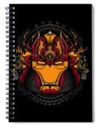 Art Of Iron Spiral Notebook