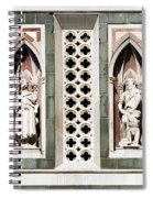 Art On Duomo In Florence Italy Spiral Notebook