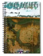 Art Print California 04 Spiral Notebook