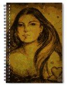 Artemis Who Spiral Notebook