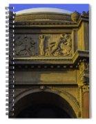 Artful Palace Of Fine Arts Spiral Notebook