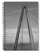 Arthur Ravenel Jr Bridge II Spiral Notebook