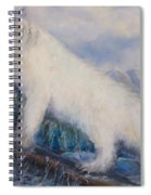 Artic Fox Spiral Notebook