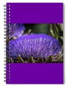 Artichoke Blossom Spiral Notebook