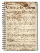 Articles Of Confederation Spiral Notebook