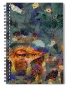 Artifact Chic No 61 Spiral Notebook