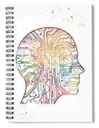 Artificial Intelligence Spiral Notebook