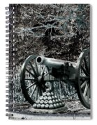 Artillery At Pickettes Charge Spiral Notebook