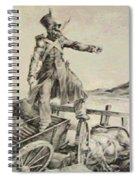 Artillery Caisson Spiral Notebook