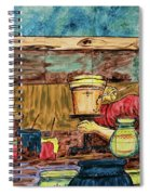 Artisan Market La Mariscal In Quito  Spiral Notebook