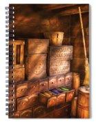 Artist - Assorted  Dyes  Spiral Notebook