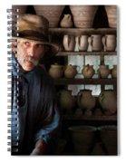 Artist - Potter - The Potter II Spiral Notebook