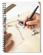 Artist At Work - Michelle Wie Part 1 Spiral Notebook