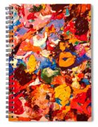 Artist Palette Spiral Notebook