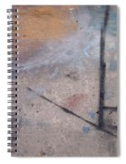 Artist Sidewalk 2 Spiral Notebook
