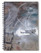 Artist Sidewalk 3 Spiral Notebook