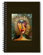 Artistic Sadness Spiral Notebook