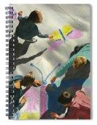 Artists At Work Spiral Notebook