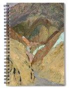 Artist's Brushstrokes Spiral Notebook