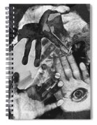 Artist's Hands Spiral Notebook