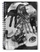 Artist's Hands Spiral Notebook