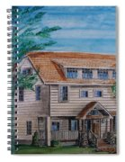 Arts And Crafts Style Spiral Notebook