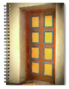Arts Center Door Spiral Notebook