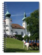 Artstetten Castle In June Spiral Notebook