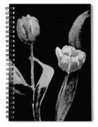 Artsy Tulips Spiral Notebook